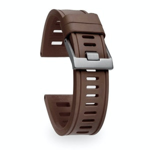 Isofrane Dive Watch Rubber Strap Coffee