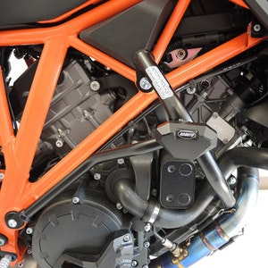 Crash Bars Engine Protectors - KTM 1290 SuperDuke R 14-18 Black