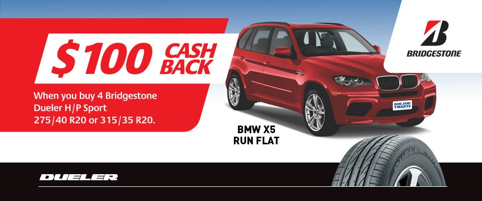 Bridgestone Cash Back
