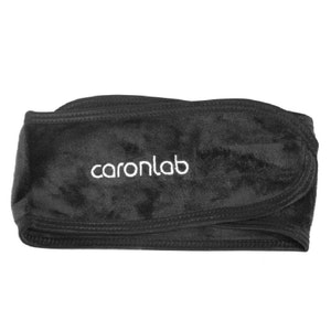 Caronlab Washable Head Band Black (2 Pack)