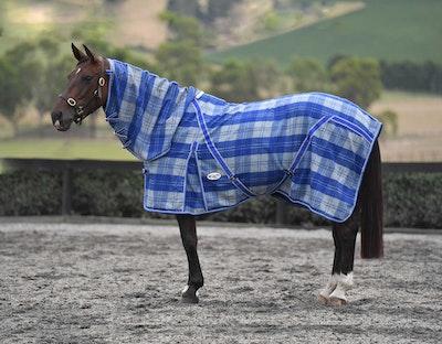 CARIBU Wool Horse Rug Combo