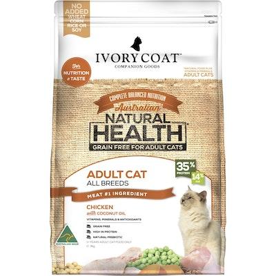 IVORY COAT Grain Free Cat Dry Food Adult Chicken 3kg