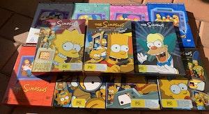 Simpsons DVD's Seasons 1-11