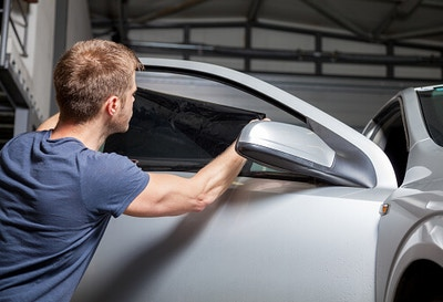 How To Professional Tint a Car Door Window