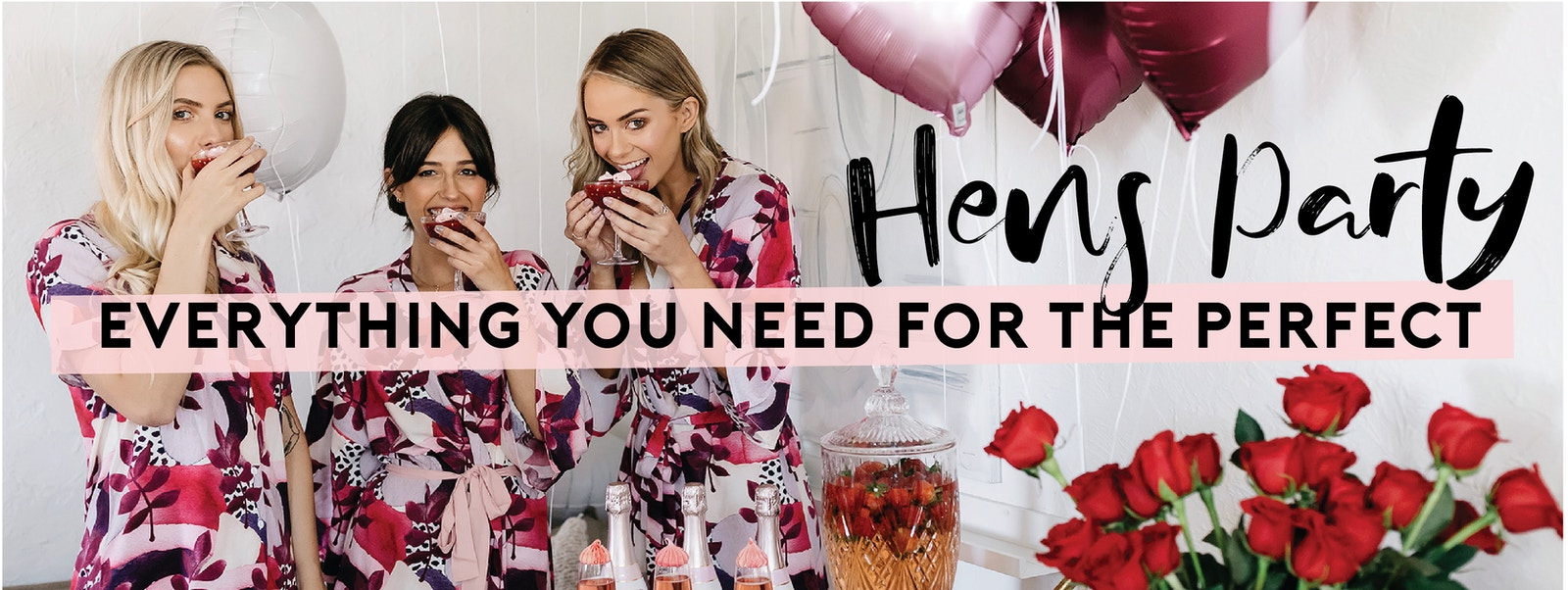 Hens Party Ideas and Supplies | LENZO