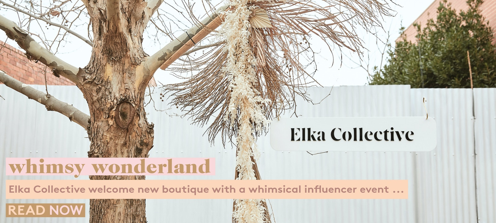 Elka Collective's whimsical influencer event