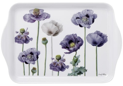 Ashdene: Purple Poppies Scatter Tray