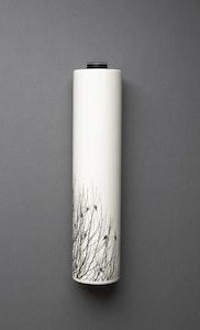 Black Birds Wall Vase