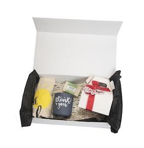 Symbolic Studio Large White Personalised Gift Box   Bl001