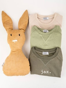 Personalised Name Sweater Olive - Plain Font