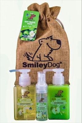Smiley Dog Gift Pack Apple and Lemongrass
