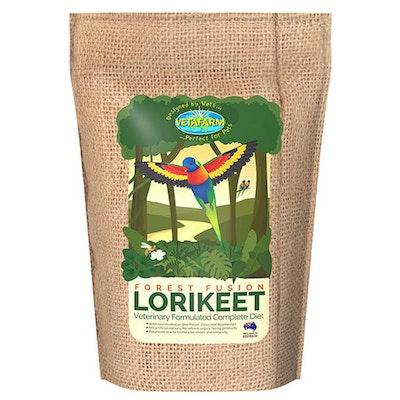 Vetafarm Forest Fusion Lorikeet Lori Pet Exotic Bird Diet 10kg
