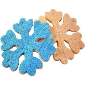 DoggyTopia Loofah Snowflake Dental Toy