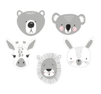 Mister Fly | Animal Wall Decals (set of 5)
