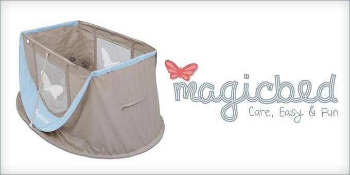 Introducing the new Magicbed Travel Cot