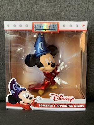 """Disney Fantasia Sorcerer Mickey 6"""" Metal Die Cast MetalFig"""