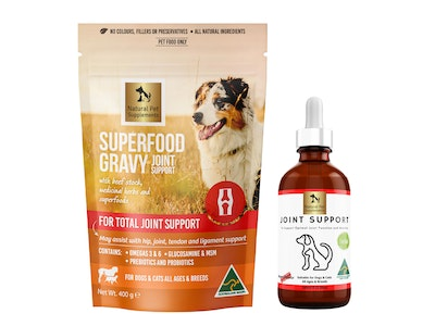 Natural Pet Supplements Joint Support Kit for Dogs and Cats