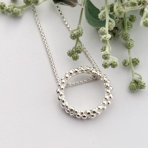 Silver Lining necklace
