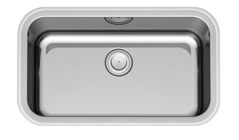 Paco Jaanson Sardinia 825mm Single Bowl Sink Drop In