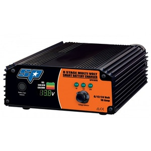 SP61090 Battery Charger 8 Stage 10 Amp Multi-Volt Smart SP61090