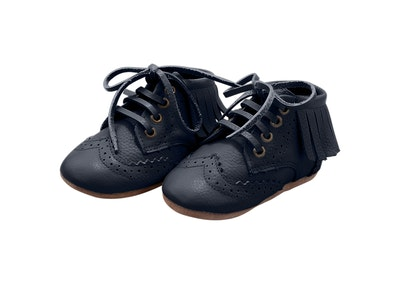 Wildchase The Blake Boot Collection - 100% Leather - Navy