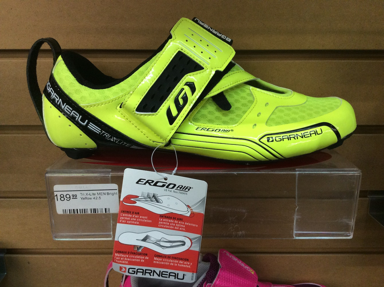 louis garneau tri x lite triathlon bike shoes for sale in dallas. Black Bedroom Furniture Sets. Home Design Ideas