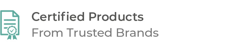 Certified Products on MedCart