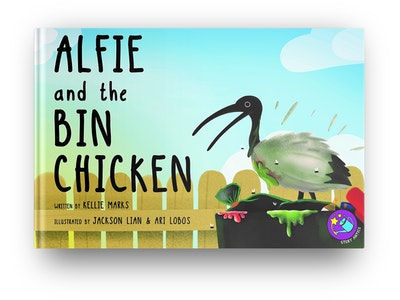 You Save the Swamp: The Bin Chicken Recycling Personalised Storybook