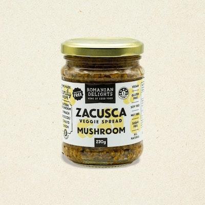 Romanian Delights Zacusca Mushroom