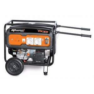 SPGC8100E Generator 15Hp 8.1KVA 6500w Construction Series Sine Wave SPGC8100E