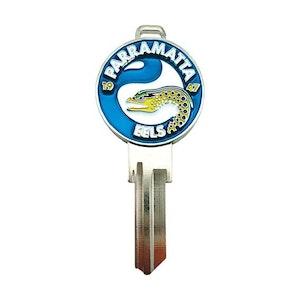 Creative Keys NRL Team Logo Key Blank TE2 - Parramatta Eels