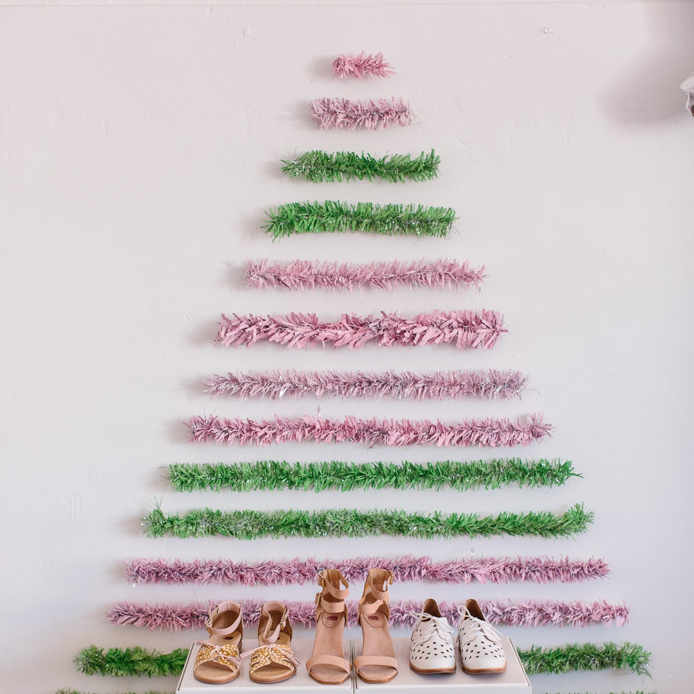 LENZO Christmas Tree Bared Footwear