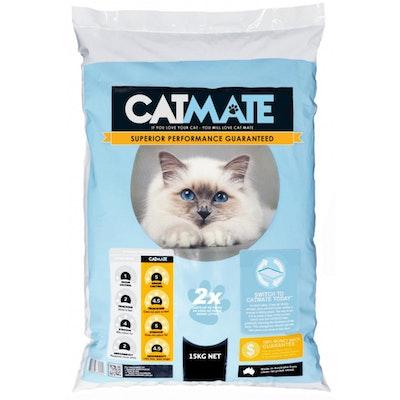 CATMATE Odour Control Cat Litter Bedding 15kg