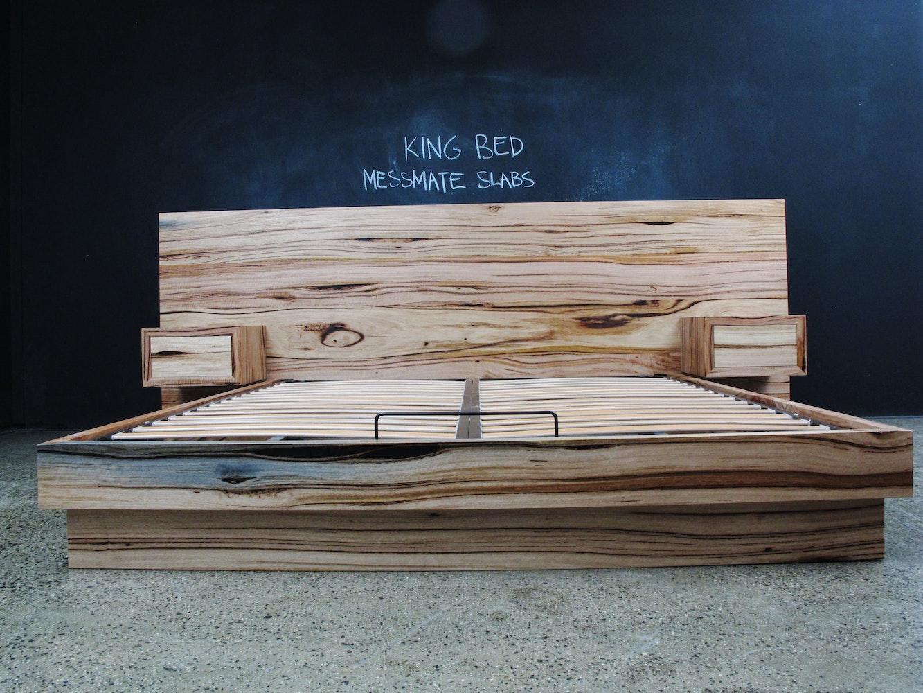 Christian Cole Furniture Messmate Flat Head Board Custom