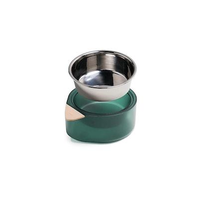 Pidan Pet Bowl-M-Single- Green