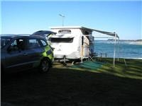 Tuross Beach Holiday Park provides ocean views for Santa Fe R and jayco Discovery  089