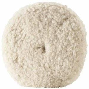 "9"" Double Sided Wool Buff Pad"