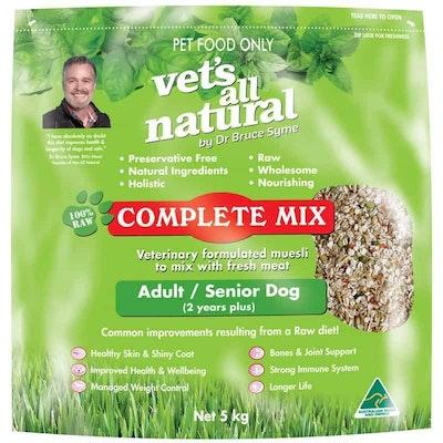 Vets All Natural Complete Mix Adult & Senior Dry Dog Food