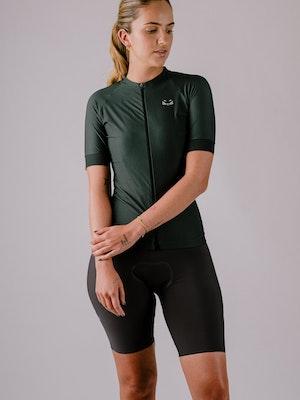 Taba Fashion Sportswear Camiseta Ciclismo Mujer Aventurina
