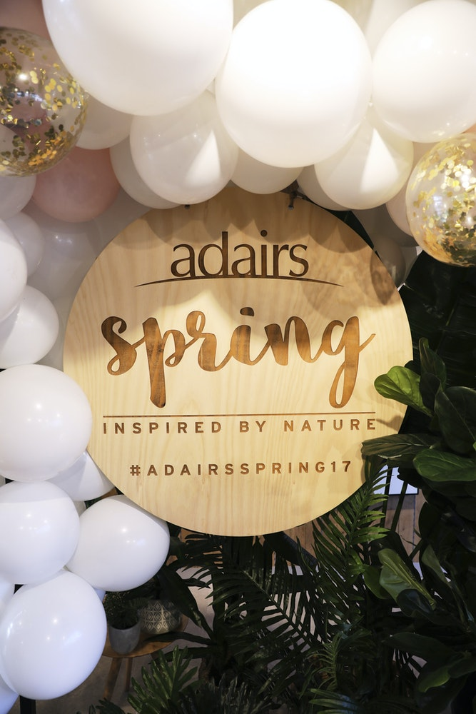 LENZO Styling Adairs Spring Collection launch