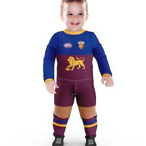 Ashtabula AFL Brisbane Lions Footysuit