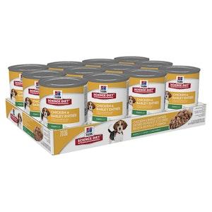 Hill's Science Diet Dog Puppy Chicken & Barley Entree 12 x 370g