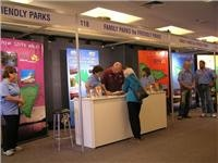 FPA and FPNZ stand at the VIC caravan camping show
