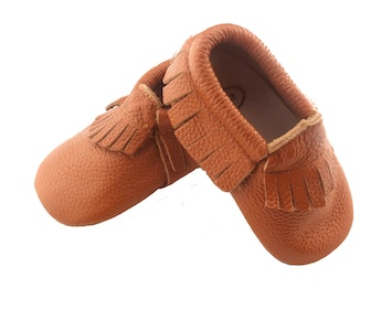 Wildchase moccasins-frill-brown