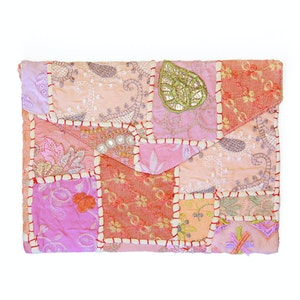 Global Sisters Shop Colour Splash Clutch/iPad Case