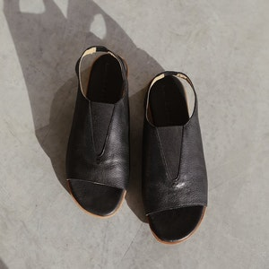 Nancybird Sling Back Loafer - Black