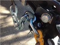 Safety chain extension permanent solution to meet Australian towing standards