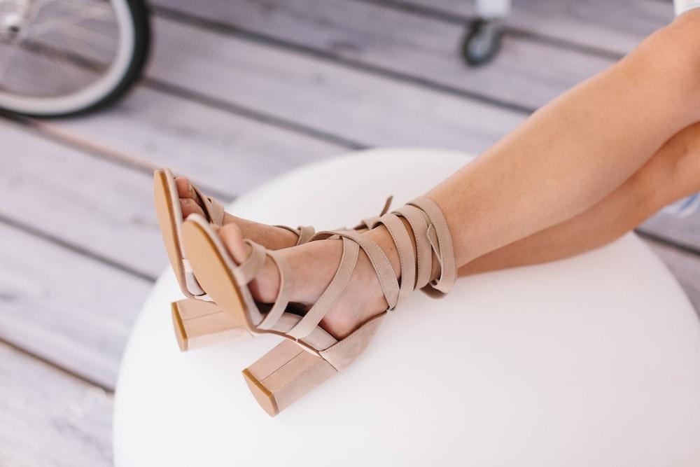 LENZO Christmas Bared Footwear