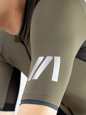 Twenty One Cycling Factory Lightweight Jersey - Olive - Men