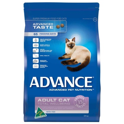 Advance  Total Wellbeing  Adult  Fish  Dry Cat Food